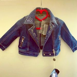 Other - NWT Baby Girl Jean Jacket
